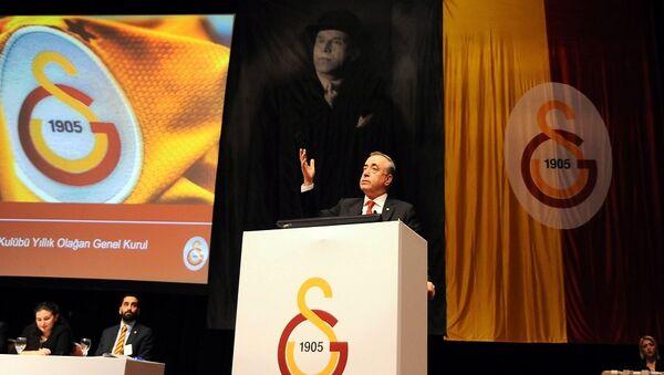 Galatasaray Başkanı Mustafa Cengiz - Sputnik Türkiye