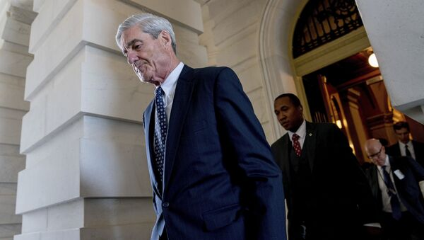 Former FBI Director Robert Mueller, the special counsel probing Russian interference in the 2016 election, departs Capitol Hill following a closed door meeting in Washington. (File) - Sputnik Türkiye