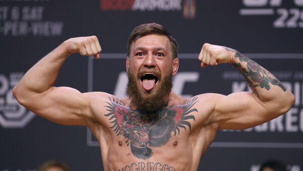 Dünyaca ünlü İrlandalı karma dövüş (MMA) sporcusu Conor McGregor - Sputnik Türkiye