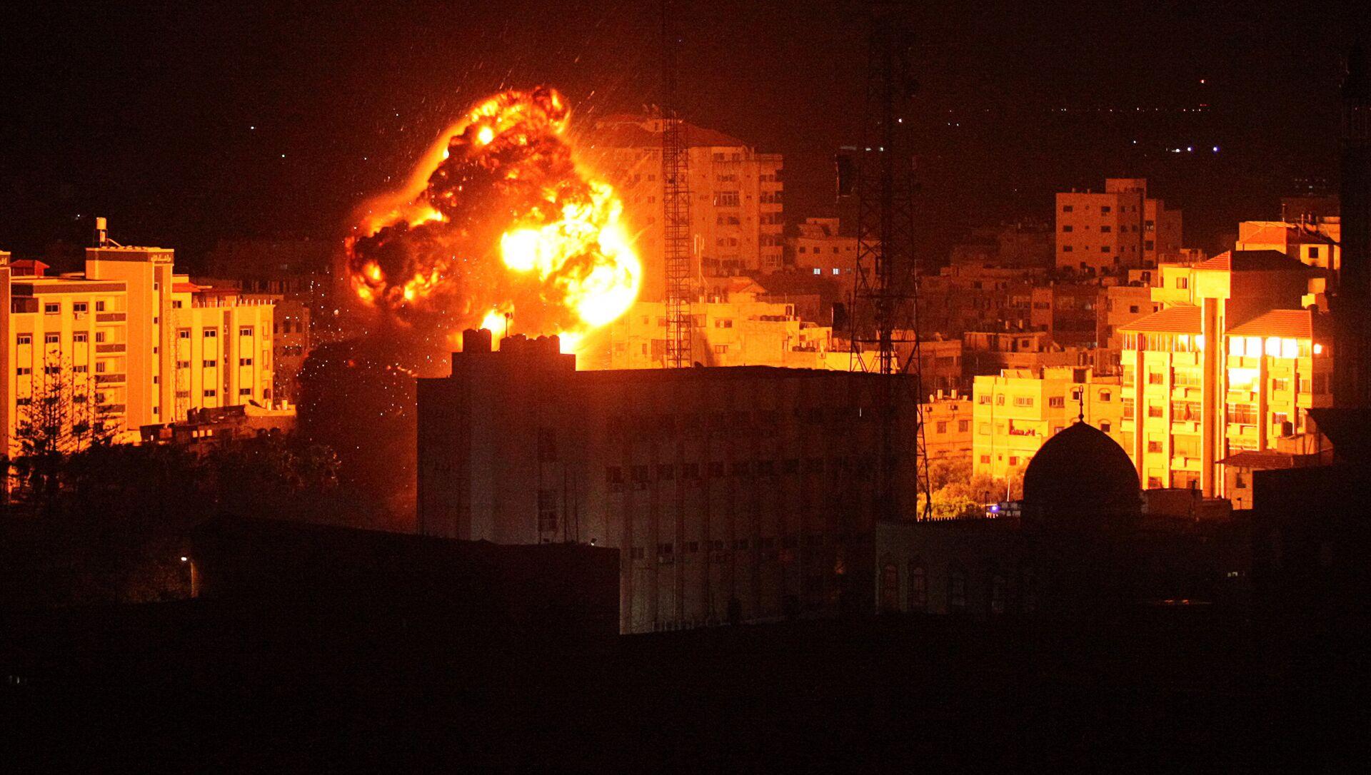 İsrail'in Gazze'ye saldırısı - Sputnik Türkiye, 1920, 20.05.2021