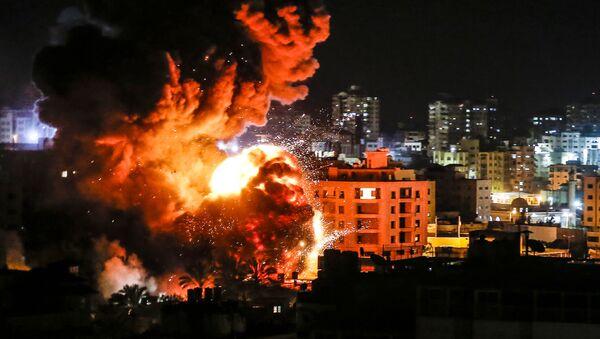 İsrail'in Gazze'ye saldırısı - Sputnik Türkiye