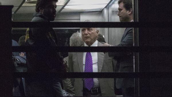 Brezilya eski Devlet Başkanı Michel Temer serbest bırakıldı - Sputnik Türkiye