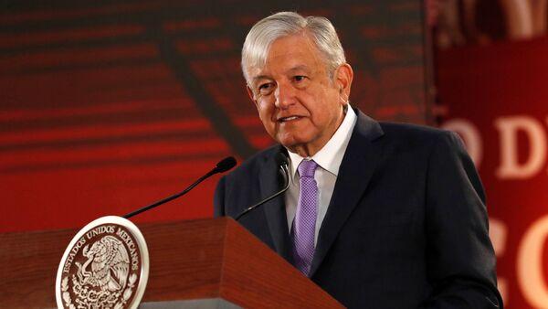 Manuel Lopez Obrador - Sputnik Türkiye