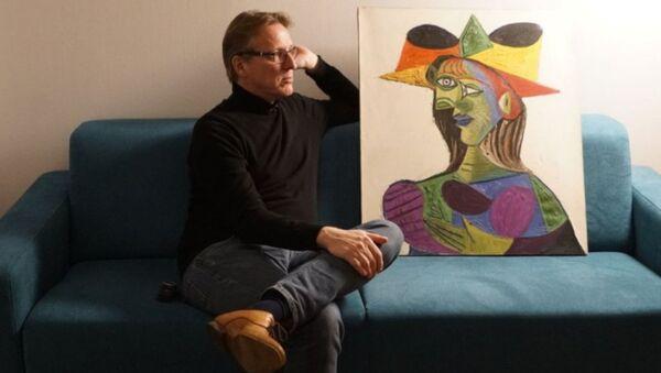 Buste de Femme (Kadının Büstü) dedektif tarafından bulundu. Hollandalı sanat dedektifi Arthur Brand, 2015 yılından bu yana tabloyu bulmak için çalışıyordu. - Sputnik Türkiye