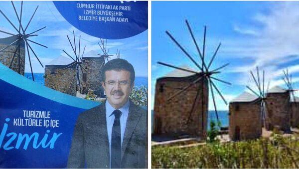 CHP'li Yücel'den Zeybekci'ye: Slogan güzel ama keşke Sakız Adası yerine İzmir resmi kullansaydınız - Sputnik Türkiye