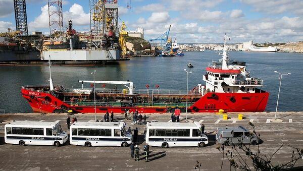 Palau bayraklı 'Elhiblu 1' isimli tanker - Sputnik Türkiye