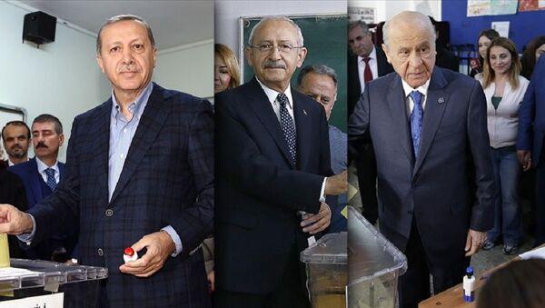 Erdoğan, Kılıçdaroğlu, Bahçeli - Sputnik Türkiye