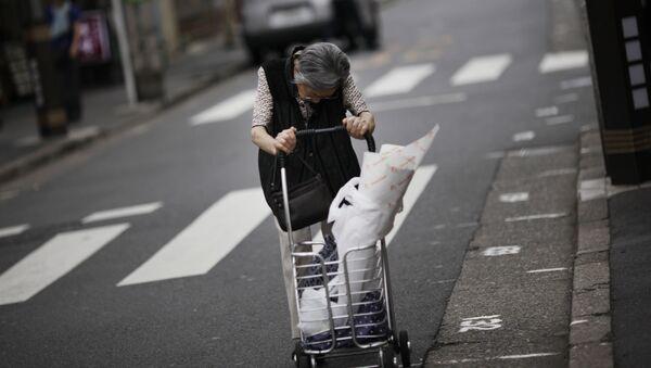 Japonya-yaşlı nüfus - Sputnik Türkiye