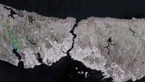 Avrupa Uzay Ajansı İstanbul Boğazı'nı görüntüledi - Sputnik Türkiye