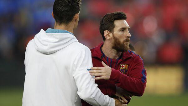 Lionel Messi ve Cristiano Ronaldo - Sputnik Türkiye