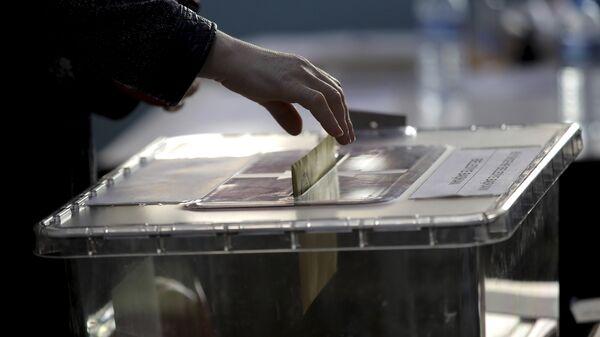 Yerel Seçim 2019, oy pusulası, sandık - Sputnik Türkiye