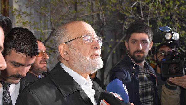 Saadet Partisi Genel Başkanı Temel Karamollaoğlu - Sputnik Türkiye