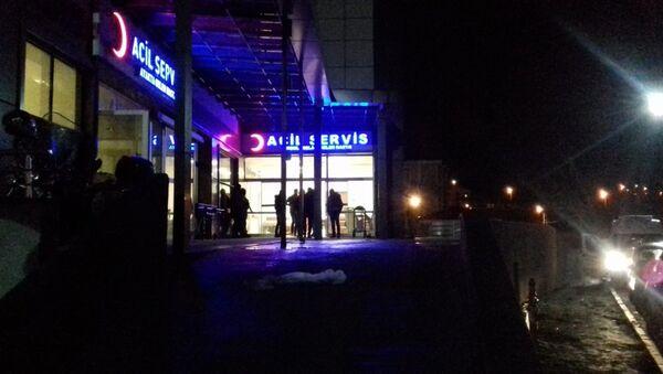 Kars'ın Kağızman ilçesinde muhtarlık seçimi nedeniyle çıkan silahlı kavga - Sputnik Türkiye