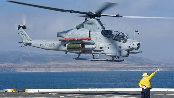 ABD'de helikopter kazası: 2 pilot hayatını kaybetti - Sputnik Türkiye