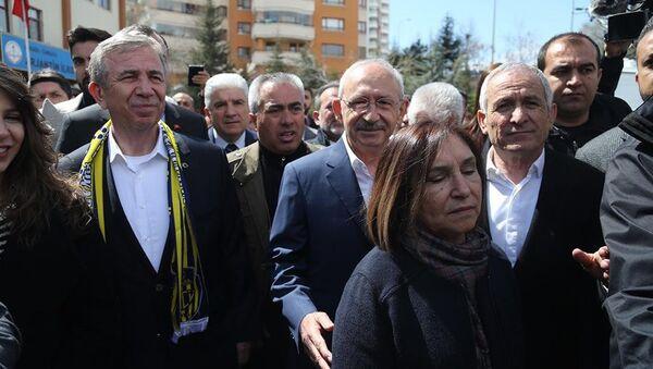 Kemal Kılıçdaroğlu - Mansur Yavaş - Sputnik Türkiye