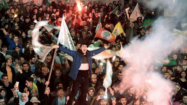 Diyarbakır-yerel seçim - Sputnik Türkiye