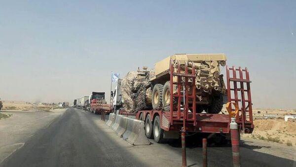 ABD Irak'tan Suriye'ye yeni sevkiyatı - Sputnik Türkiye