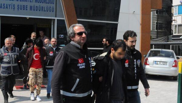 Bıçaklı Afgan gaspçılar yakalandı - Sputnik Türkiye