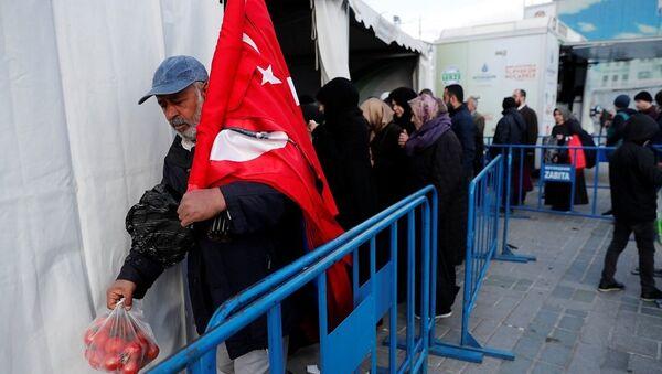 Ekonomi, enflasyon, alışveriş, tanzim satış - Sputnik Türkiye