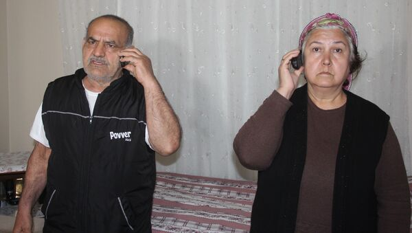 Esma İncilci - Cumali İncilci - Sputnik Türkiye