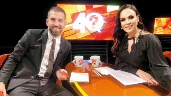 Arda Turan, CNN Türk'te 'Buket Aydın ile 40' programına konuk oldu. - Sputnik Türkiye