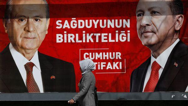 Recep Tayyip Erdoğan - Devlet Bahçeli - Sputnik Türkiye