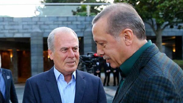 Mustafa Denizli - Recep Tayyip Erdoğan - Sputnik Türkiye