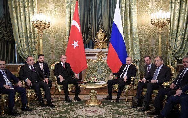 Türk ve Rus delegasyonları Moskova'da bir araya geldi - Sputnik Türkiye