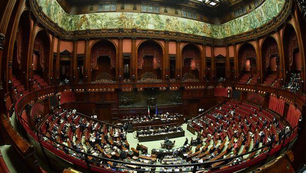 İtalya Parlamentosu - Sputnik Türkiye