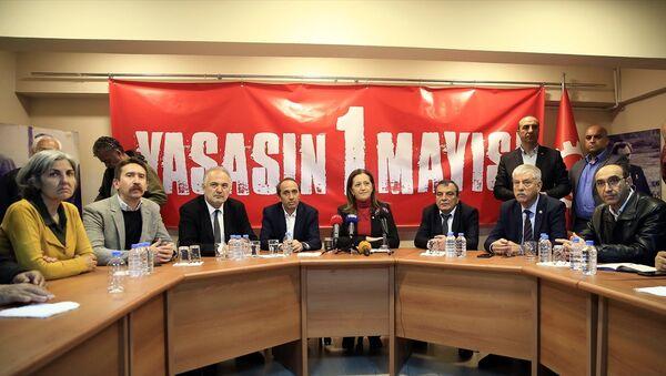 DİSK'ten 1 Mayıs açıklaması - Sputnik Türkiye