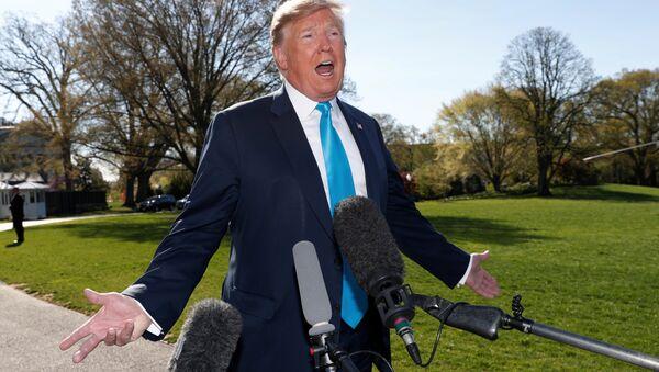 ABD Başkanı Donald Trump - Beyaz Saray - Sputnik Türkiye