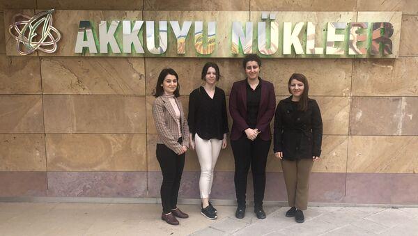 Türk kadın mühendisler, Akkuyu'da sahada çalışmak için gün sayıyor - Sputnik Türkiye