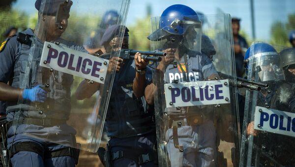 South African police - Sputnik Türkiye