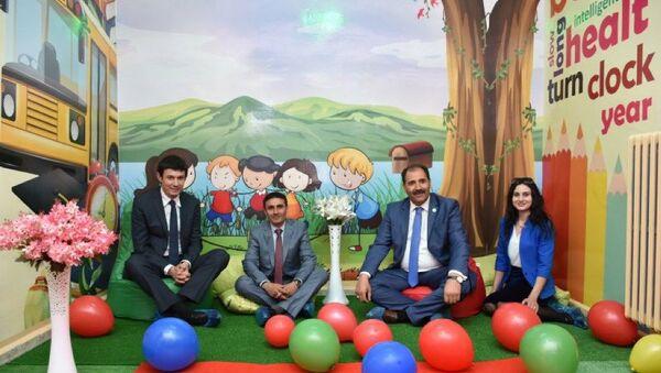 Erzincan'da Kurulan İlk FCL Sınıfı'nın Açılışı  - Sputnik Türkiye