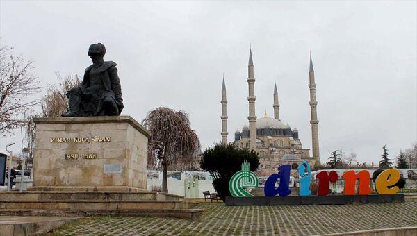 Edirne - Mimar Sinan heykeli - Sputnik Türkiye