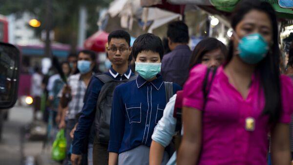 Myanmar grip salgını - Sputnik Türkiye
