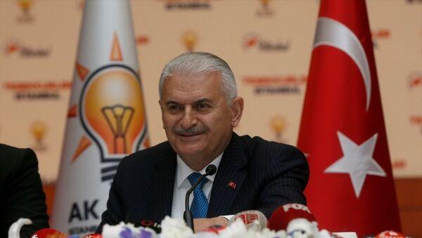 AK Partili Binali Yıldırım - Sputnik Türkiye