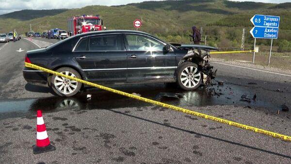 Bulgaristan'da ölümlü trafik kazasına karışan Türk partisinin liderine suçlama yöneltildi - Lütvi Mestan - Sputnik Türkiye