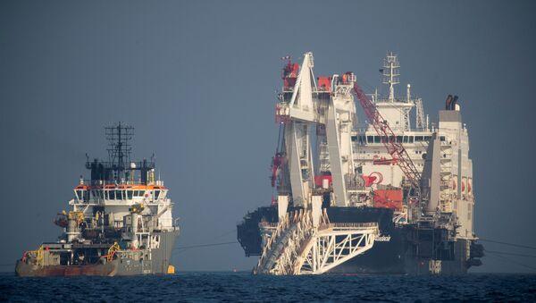 Gazprom Kuzey Akımı-2'nin yüzde 42'sinin yapımını tamamladı - Sputnik Türkiye