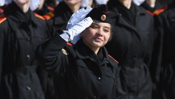 Zafer Günü askeri geçit töreni provası - Sputnik Türkiye