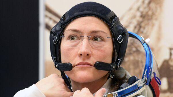 ABD'li kadın astronot Koch UUİ'de 11 ay kalacak - Sputnik Türkiye