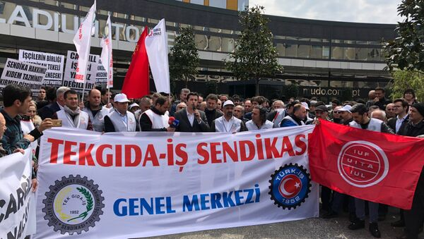 ABD'li Cargill firmasından çıkarılan işçilerin mücadelesi 365 günü geride bıraktı. - Sputnik Türkiye