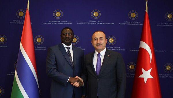 Gambiya Dışişleri, Uluslararası İşbirliği ve Yurtdışında Yaşayan Gambiyalılar Bakanı Mamadou Tangara - Sputnik Türkiye