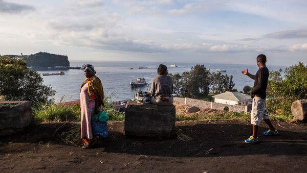 Demokratik Kongo Cumhuriyeti Kivu Gölü - Sputnik Türkiye
