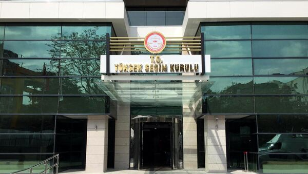 YSK - Sputnik Türkiye