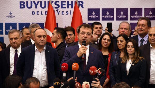 İstanbul Büyükşehir Belediye Başkanı Ekrem İmamoğlu 3 - Sputnik Türkiye