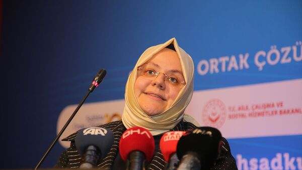 Aile, Çalışma ve Sosyal Hizmetler Bakanı Zehra Zümrüt Selçuk - Sputnik Türkiye