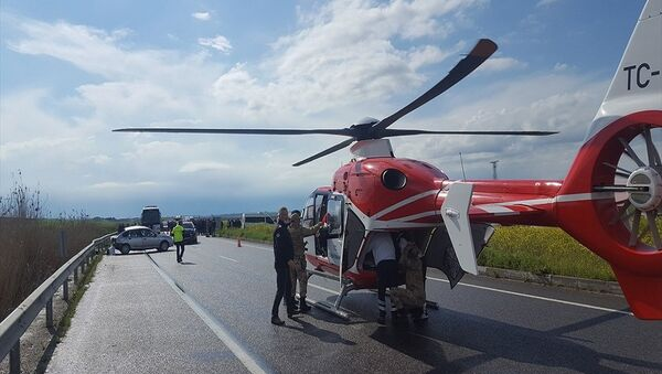 ambulans helikopter  - Sputnik Türkiye
