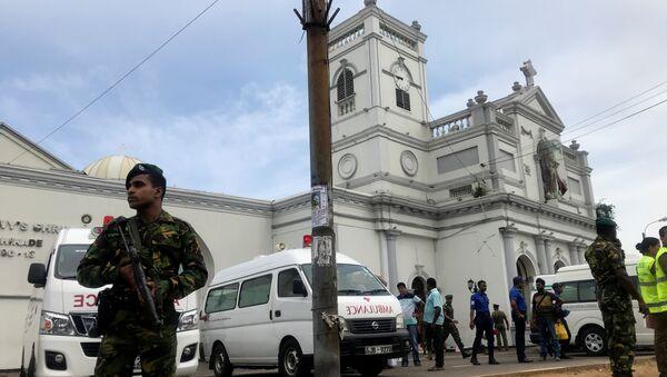 Sri Lanka'da saldırı - Sputnik Türkiye
