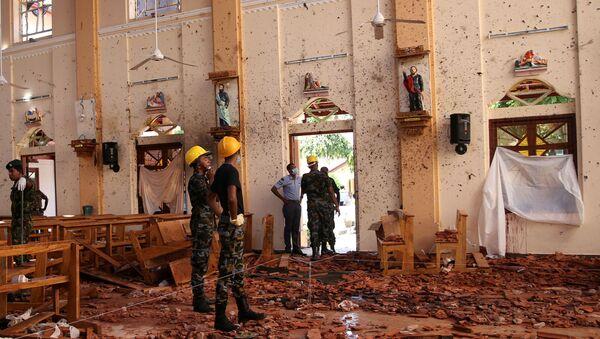 Sri Lanka'daki bombalı saldırılarda kilise ve oteller hedef alındı - Sputnik Türkiye